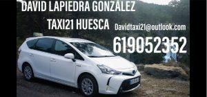 taxi21davidlapiedra huesca taxisreserva.com